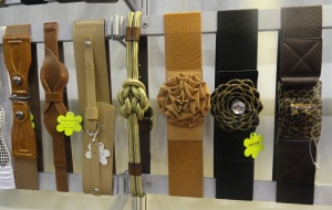 Elastic fashion belts from Hostar