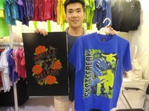 Skateboarding shirt from Bright