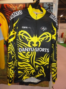 Cycling jersey from Danyu