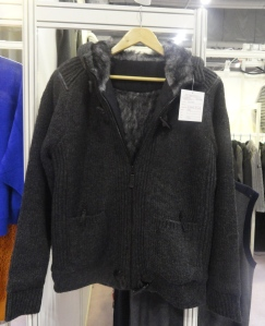 Knitted jacket from Haiyang Huasheng