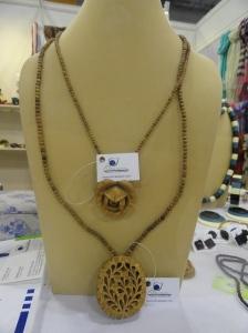 Wooden jewelry from Krishna